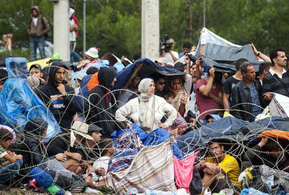 Refugiados:  Consecuencia de nuestras guerras,  nuestra complicidad,  nuestra indiferencia…