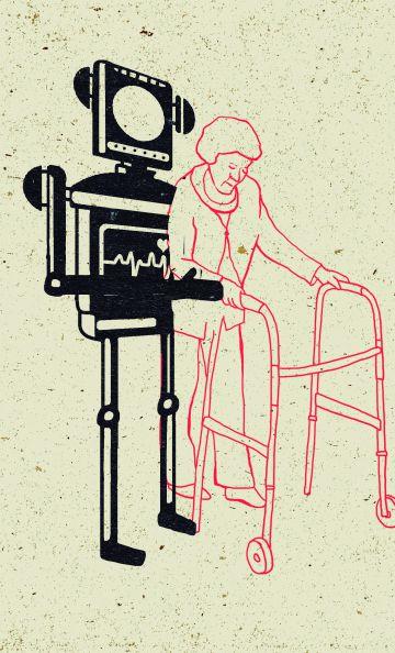 ¿Un robot para cada persona mayor? Los programas de crónicos