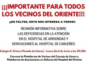 Reunion Hospital Arriondas